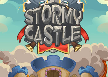 Play Stormy castle online - Screenshot 1