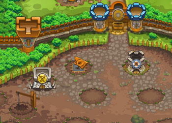 Play Stormy castle online - Screenshot 2