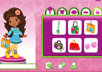 Play Strawberry Shortcake - Fabulous Fashion Boutique online - Screenshot 2