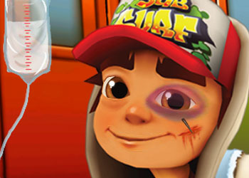 Play Subway Surfers Doctor online - Screenshot 1