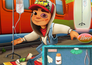 Play Subway Surfers Doctor online - Screenshot 2