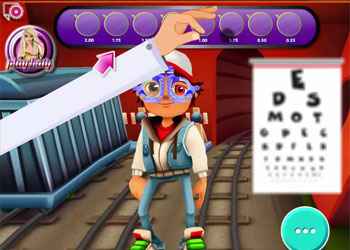 Play Subway Surfers Eye Care online - Screenshot 1