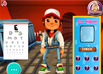 Play Subway Surfers Eye Care online - Screenshot 2