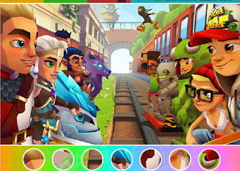 Play Subway Surfers Find Objects online - Screenshot 1