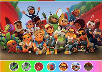Play Subway Surfers Find Objects online - Screenshot 2