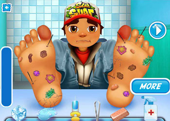 Play Subway Surfers Foot Doctor online - Screenshot 1