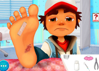 Play Subway Surfers Foot Doctor 2 online - Screenshot 2