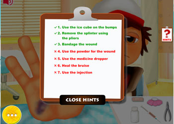 Play Subway Surfers Hand Doctor online - Screenshot 2