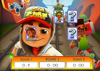 Play Subway Surfers: Memory Match online - Screenshot 1