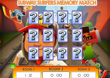 Play Subway Surfers: Memory Match online - Screenshot 2