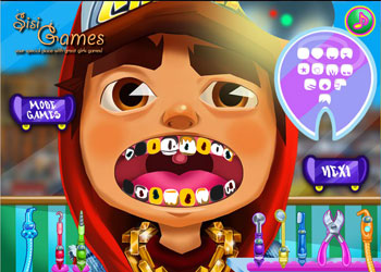 Play Subway Surfers Tooth Injury online - Screenshot 1