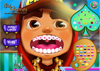 Play Subway Surfers Tooth Injury online - Screenshot 2