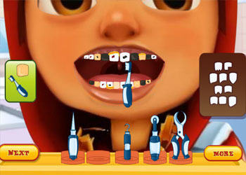 Play Subway Surfers Tooth Problems online - Screenshot 2