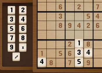 Play Sudoku Deluxe online - Screenshot 2