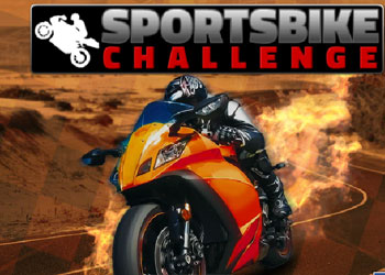 Play Sports Bike Challenge online - Screenshot 1