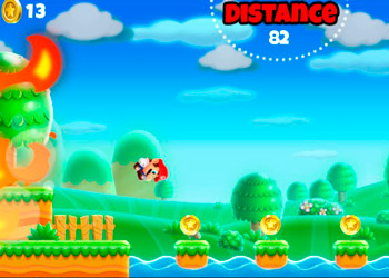 Play Super Mario Run online - Screenshot 1