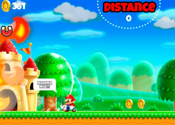 Play Super Mario Run online - Screenshot 2