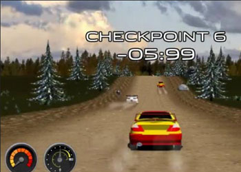 Play Super Rally Challenge online - Screenshot 1
