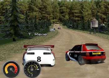 Play Super Rally Challenge online - Screenshot 2
