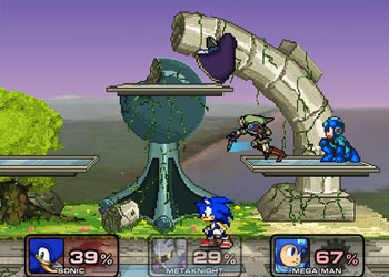 Play Super Smash Flash 2 game online - Screenshot 2