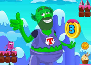 Play Super Troll Candyland Adventures online - Screenshot 1