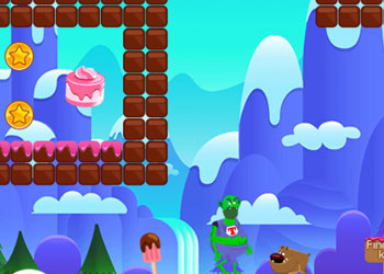 Play Super Troll Candyland Adventures online - Screenshot 2