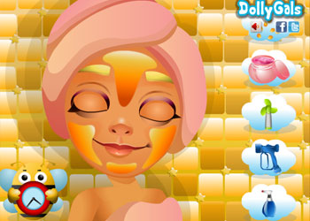 Play Surfer Tricky Makeover online - Screenshot 1