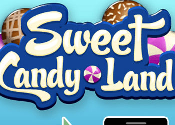 Play Sweet Candy Land online - Screenshot 1