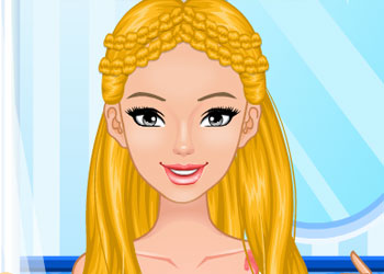 Play Sweet Summer Braids online - Screenshot 1