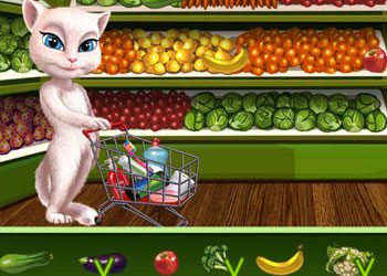 Play Talking Angela Great Shopping online - Screenshot 1