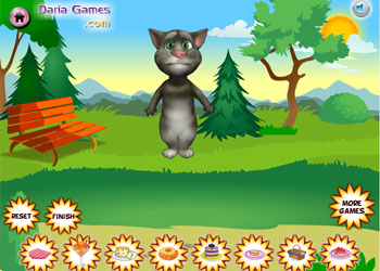 Play Talking Tom Picnic online - Screenshot 1
