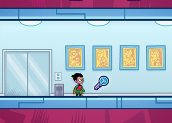 Play Teen Titans Go Tower Lockdown online - Screenshot 2