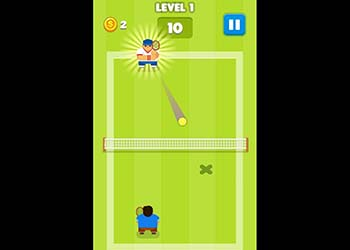 Play Tennis Is War online - Screenshot 1