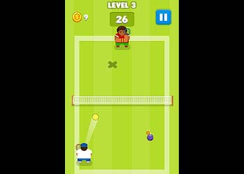 Play Tennis Is War online - Screenshot 2