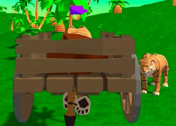 Play Tiger Simulator online - Screenshot 1