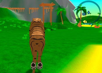 Play Tiger Simulator online - Screenshot 2