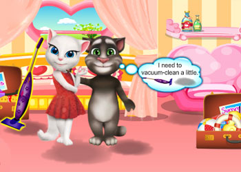 Play Tom And Angela Summer Luggage online - Screenshot 2