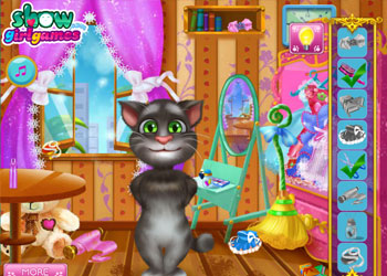 Play Tom Cat Designer online - Screenshot 1