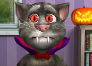 Play Tom Cat Halloween Fun online - Screenshot 1