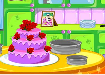 Play Tom Family Cooking Cake online - Screenshot 2