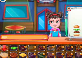 Play Top Burger online - Screenshot 1