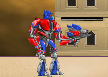Play Transformers Takedown online - Screenshot 1
