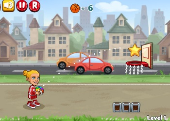 Play Trick Hoops online - Screenshot 1