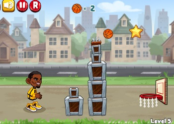Play Trick Hoops online - Screenshot 2