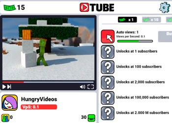 Play Tube Clicker online - Screenshot 2