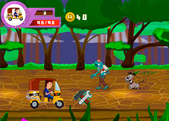 Play Tuk Tuk Crazy Driver online - Screenshot 1