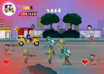 Play Tuk Tuk Crazy Driver online - Screenshot 2