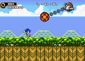 Play Ultimate Flash Sonic online - Screenshot 2