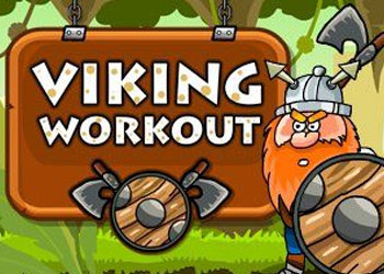 Play Viking Workout online - Screenshot 1