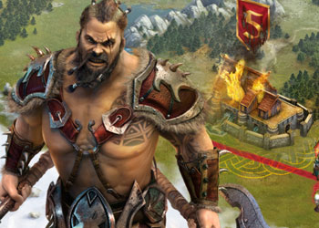 Play Vikings War of Clans online - Screenshot 1